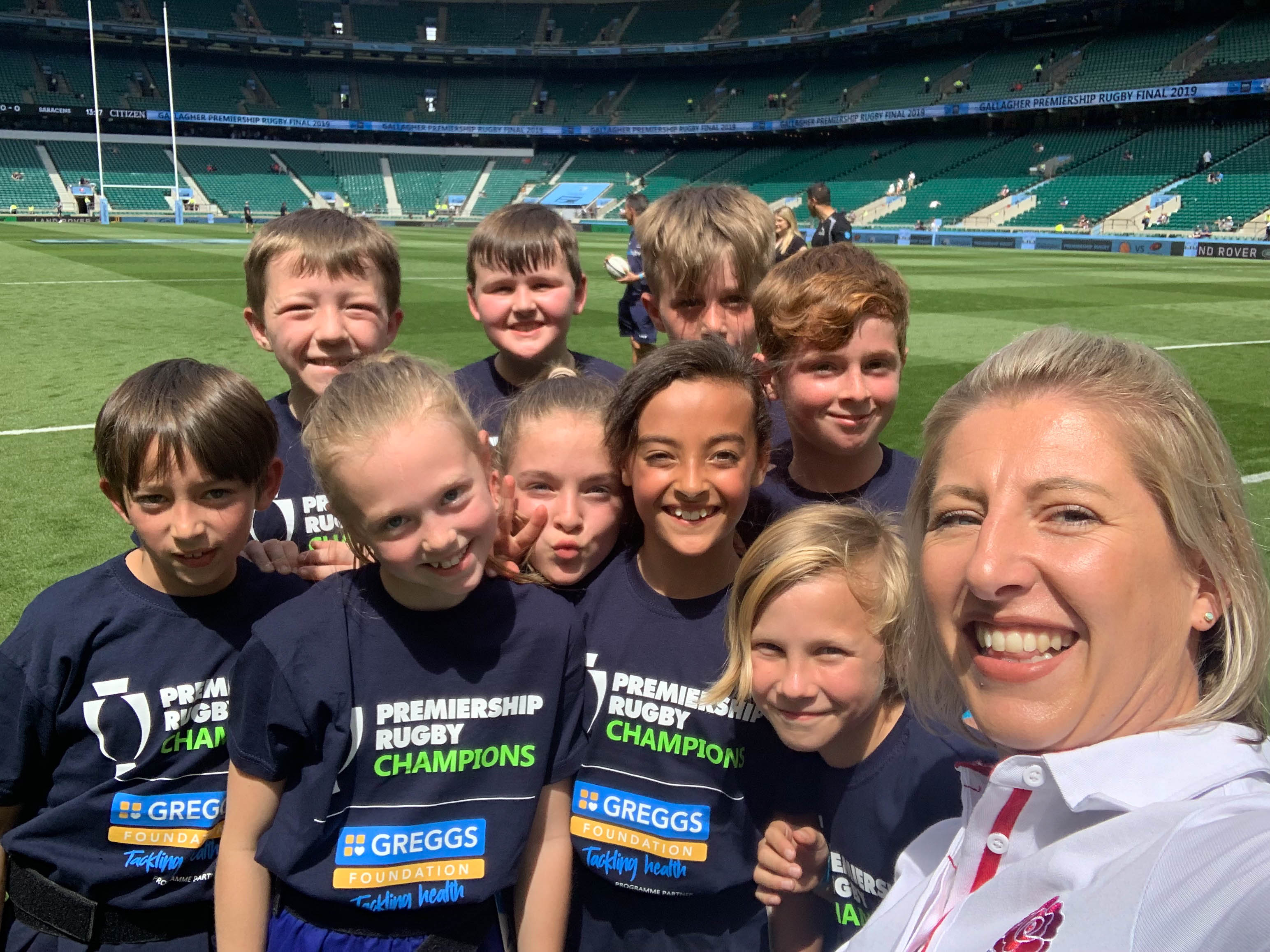 'One of the best days of my life' as pupils soak up the rugby atmosphere at Twickenham